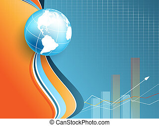 vector statistic backdrop Eps10 - abstract vector statistic...