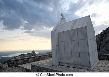 Chapel in mountains Velebit,Croatia - Chapel in mountains...
