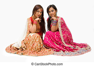Harem girls - Two beautiful harem girls or belly dancers or...