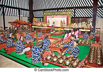 Wayang Kulit in Yogyakarta on Java, Indonesia - YOGYAKARTA,...