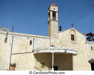 Church of the Archangel Gabriel, Nazareth, Israel - Orthodox...