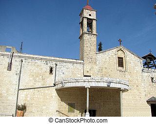 Church of the Archangel Gabriel, Nazareth, Israel - Orthodox...