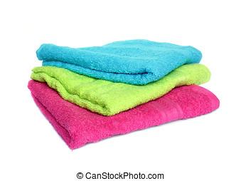 Three towels