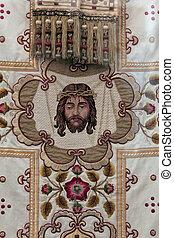 dorado, bordado, Obispos, Vestidura