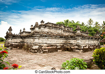 Candi Penataran temple in Blitar, east Java, Idonesia -...