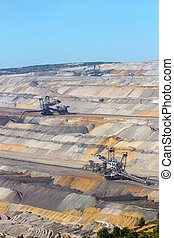 Open pit mine in Germany