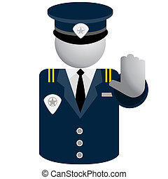 Security Police Icon