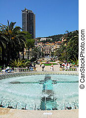 Principality of Monaco - MONACO - MAY 07:The Exotic Gardens...