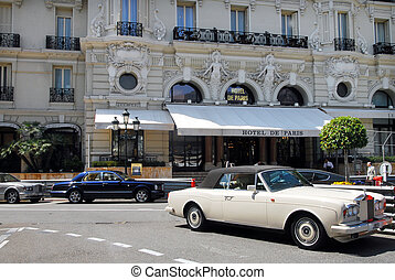 Principality of Monaco - MONACO - MAY 07:Luxury cars outside...