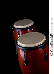 Percussion instrument - Two drums or bongos