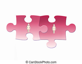 Gay marriage - Same - sex marriages: female Couple
