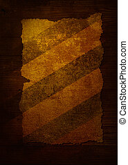 parchment stripped aged