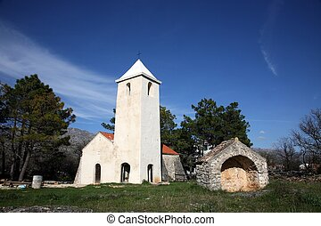 Small rural church in Croatia - Beautiful small rural church...