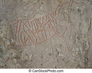 Stone Age - Rock-art from the Stone Age in Vingen Norway