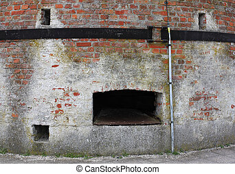 Limekiln - Detail of an old limekiln in the Netherlands