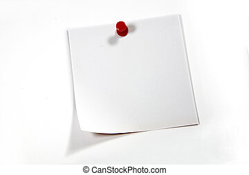 Post it isolated on white background. Remember and present...