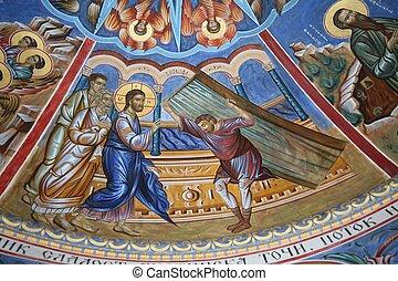 Jesus healing the paralyzed - Vitezda- miracle of Jesus...