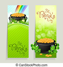 Set of St. Patricks Day Cards - Set of St. Patrick's Day...