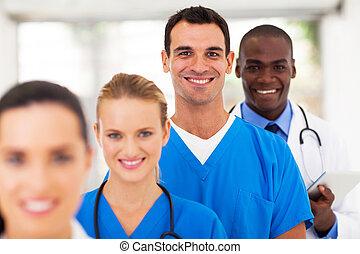 profissionais, médico, modernos