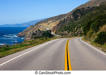 California Coast - Highway through California Coast