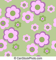 Seamless texture pattern with flowers