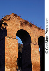 Aqueduct - The remains of an Aqueduct in Rome