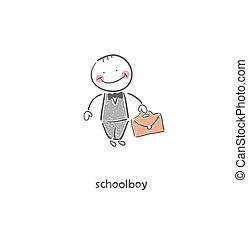 Schoolboy.