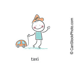 taxi, conductor