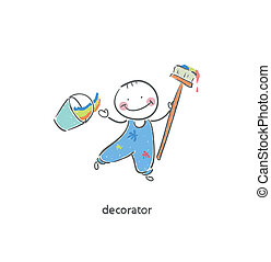 Decorator Illustration