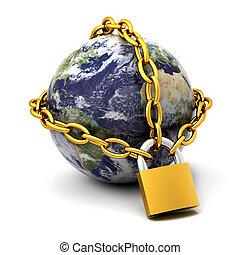 Terra, chiuso chiave