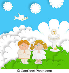 funny first communion card