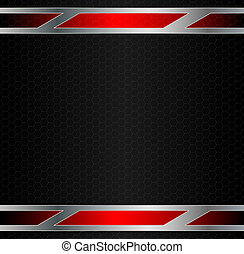Abstract metal background Vector illustration