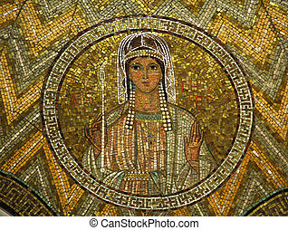 Esther, mosaic