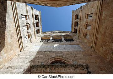 Basilica of the Transfiguration, Mount Tabor, Galilee,...
