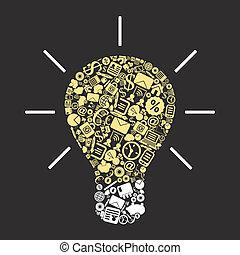 Business a bulb