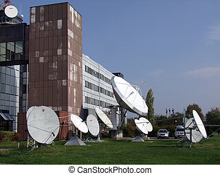 TV Station Up-link Download Antennas - Broadcasting Media...