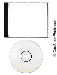 Cover and Blank Disc with Clipping Path