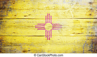 Flag of the state of New Mexico