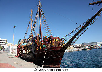 Pirate ship - Sousse, Tunisia