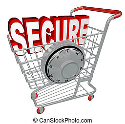 Secure - Safe Shopping Cart with Security