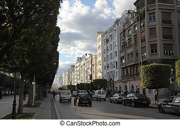 Tunis city center