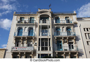 Tunis city center