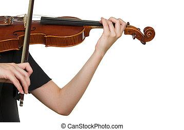 Violin - Playing violin