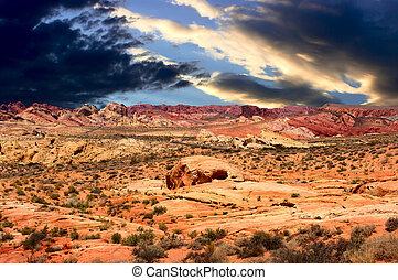 Valley of Fire National Park Nevada