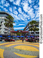 Gaya Street Sunday Market at Sabah - Sunday Market located...