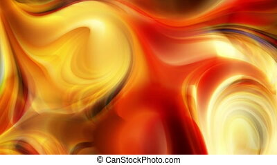 Flowing colors background
