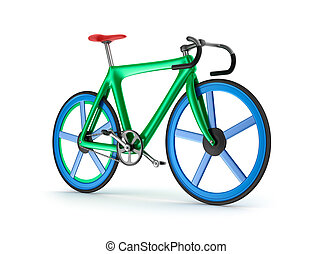 Road tour bicycle concept.