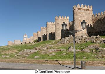 Walls of Avila, Castilla y Leon, Spain