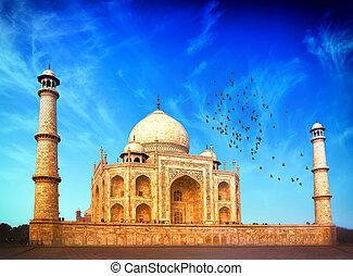 India. Indian Palace Taj Mahal