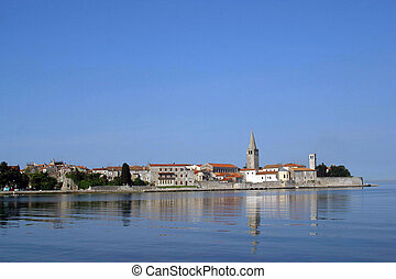 Sea town of Porec - Istria peninsula, Croatia